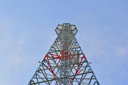 telephone poles: telephone poles Stock Photo