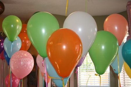 colorvul birthday Party Balloons Imagens