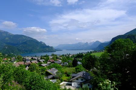 beautiful vista in austria