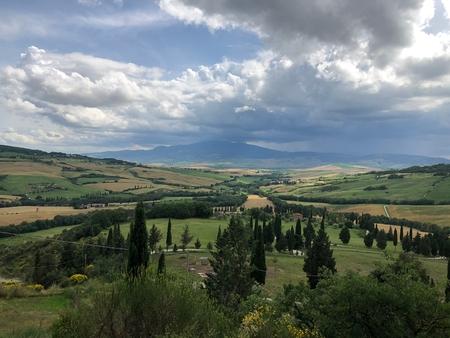 Beautiful Tuscan countryside Banco de Imagens - 122995164