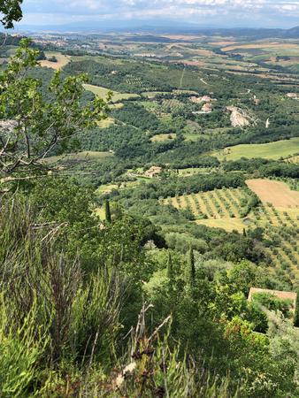 Beautiful Tuscan countryside Banco de Imagens - 122995170