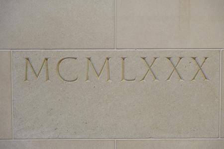 MCMLXXX Roman Numeral 1980