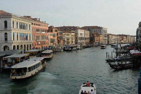 Typical waterway in Venice