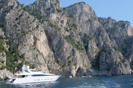 Faraglioni off Capri Italy