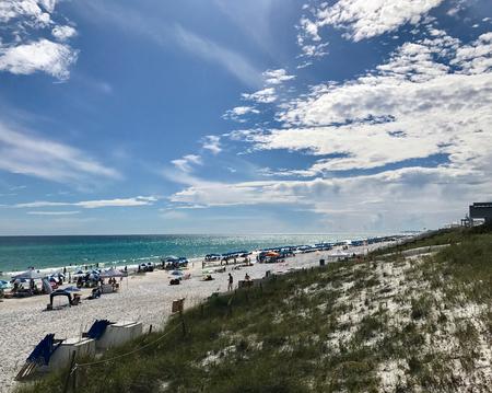 White sand beaches of Florida