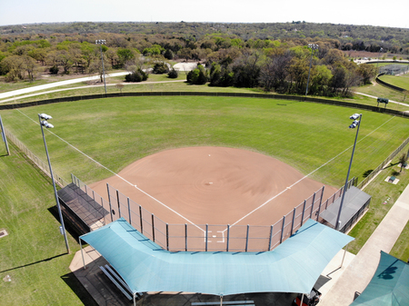 Baseball Field in Texas Editorial