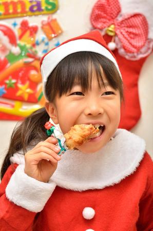 santa cena: Traje de Santa Claus para disfrutar de la muchacha del partido