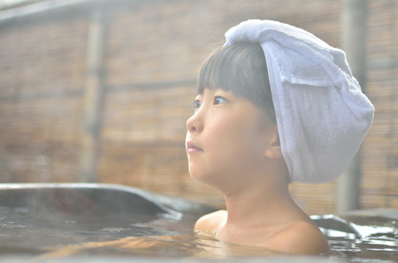 hot asian: Unwind in the Spa girl