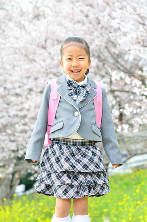 vigor: The first grade girl (cherry blossom)