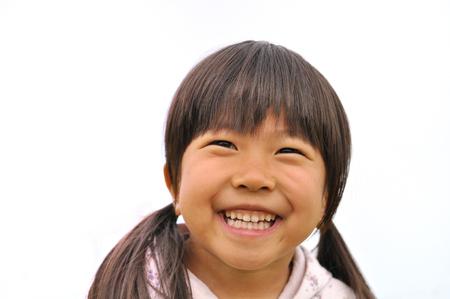 하늘에서 여자의 미소 스톡 콘텐츠 - 94677591