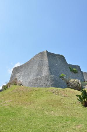 Katsuren Castle vestige (Okinawa Japan)