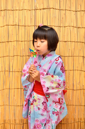 Japanese clothes girl