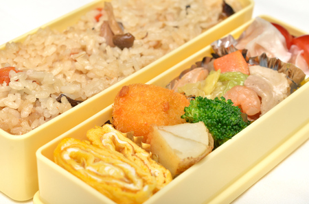 Japanese delicious lunch
