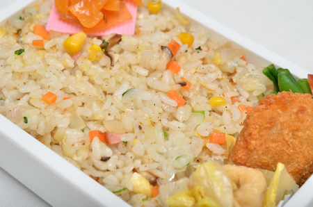 Delicious Chinese fried rice Stock Photo