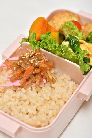 Pranzo delizioso giapponese
