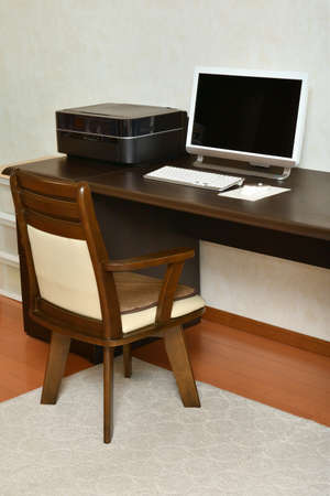 Personal computer desk and chair