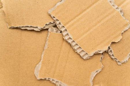 Piece of cardboard Stok Fotoğraf