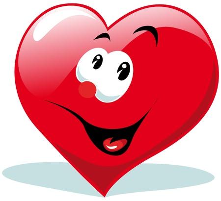 amabilidad: coraz�n de dibujos animados