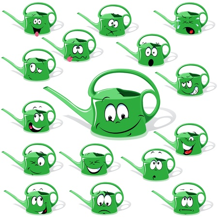 ewer cartoon Stock Vector - 14872788