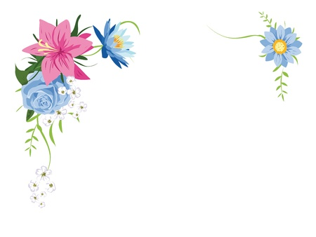 floral frame  Stock Vector - 14951749