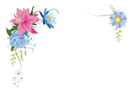 floral frame Stock Vector - 14951749