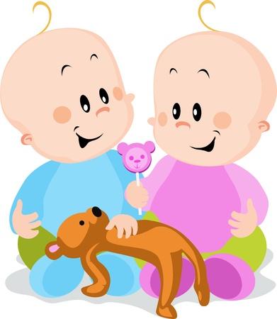 twins: twins Illustration