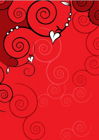 valentine background Stock Vector - 14951853