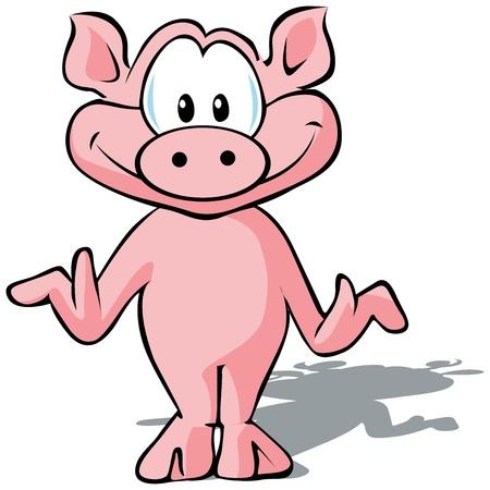 venison: cute pig