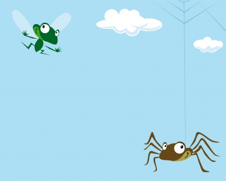 inattention: Spider and the Fly