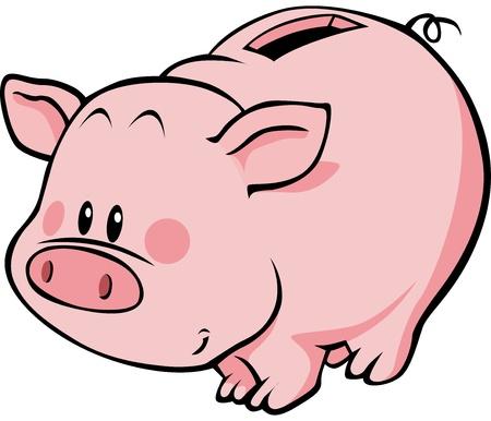 safe box: pig moneybox