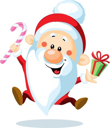 1,280 Dancing Santa Stock Vector Illustration And Royalty Free ...