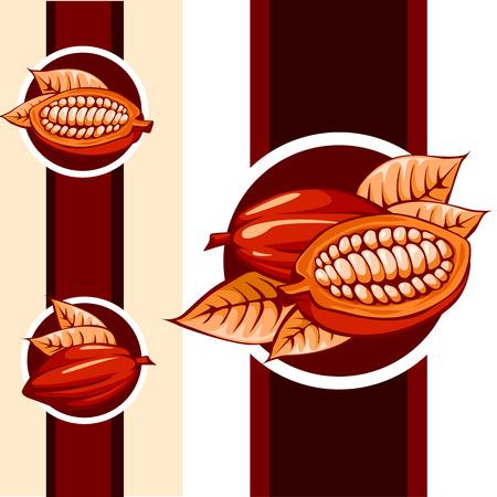 cocoa: cocoa bean design