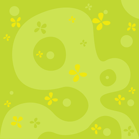 green background: natural abstract green background Illustration