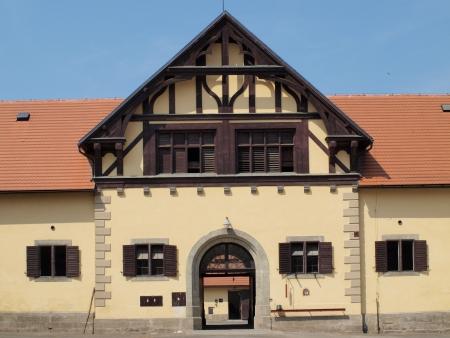 historical building of the National Stud , Slatinany  Czech Republic