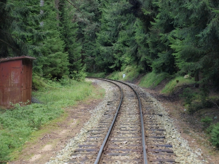 narrowgauge: unique historic narrow-gauge railway  South Bohemia