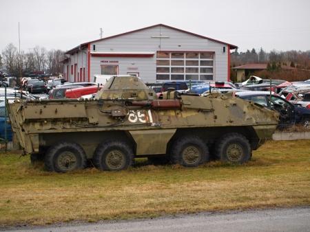 ot: historic Czech military armored transporter OT 64, Czech Republic Editorial