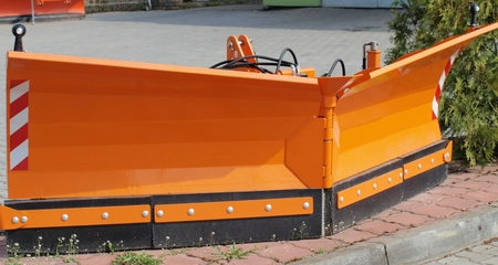 blade for snow removal, Czech Republic photo