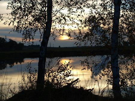 bohemia: landscape ponds, South Bohemia, Czech Republic