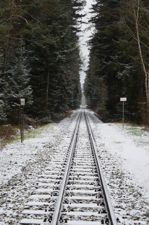 narrow gauge railroad: unique historic narrow-gauge railway. South Bohemia