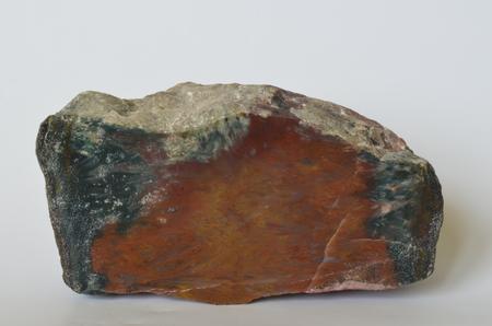 mineralogy: Jasper is an opaque variety of chalcedony, Czech Republic Stock Photo