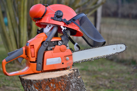 woodcutter: equipment woodcutter South Bohemia Czech Republic