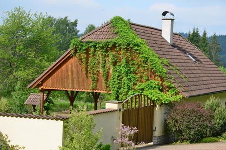 Landhaus in Südböhmen, Tschechien
