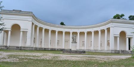 moravia: Temple of the Three Graces, historic landmark, historical Lednice-Valtice area, Czech Republic