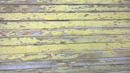 old peeling paint on wood, South Bohemia, Czech Republic