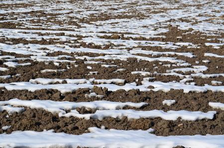 winter soil structure . Background . northern Bohemia, czech republik