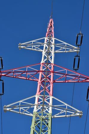 electricity pylons, southern Bohemia. Czech Republic