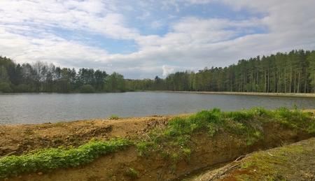 rybníků v krajině jižních Čech, Česká republika