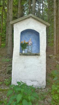 historical religious monument. South Bohemia, Czech Republic Stock Photo - 79595192