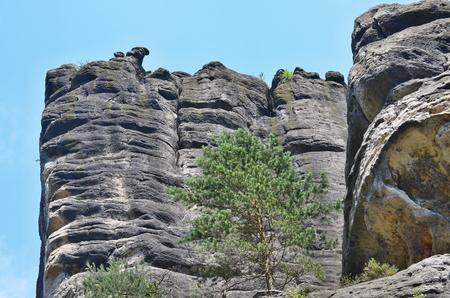 skalní útvary, Národní přírodní rezervace Adršpač-Teplice, Česká republika