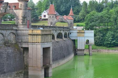 Lesní království je přehradní přehradou na Labi postavené v roce 1920 v České republice